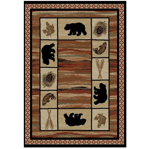 Bear Area Rug Vogel - Hearthside Collection