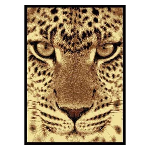 Leopard Face Area Rug