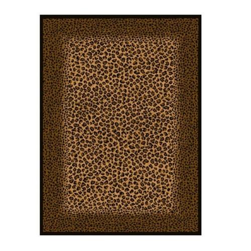 Leopard Skin Area Rug