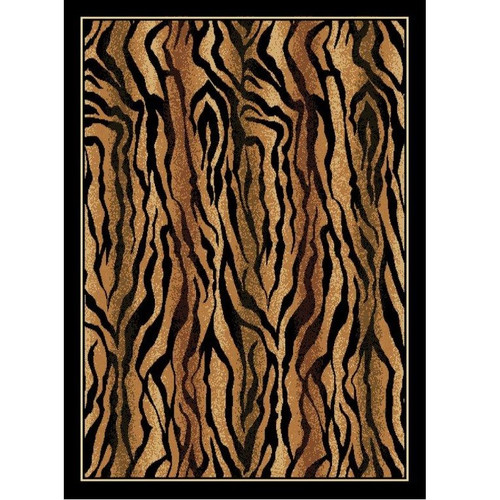 Tiger Safari Print Area Rug