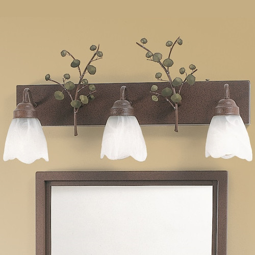 Aspen Leaves Vanity Light