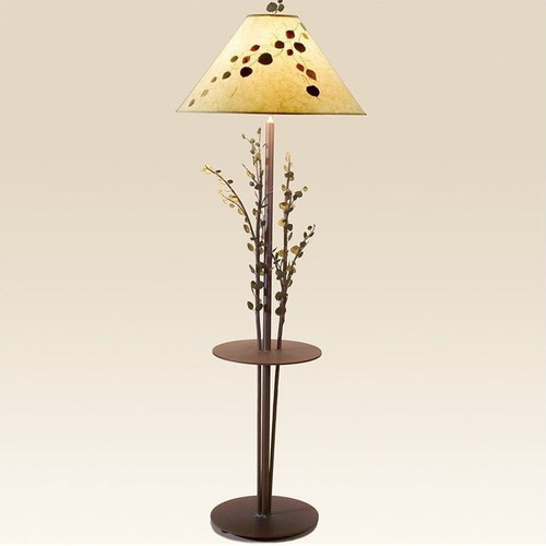 Aspen Floor Lamp with Table