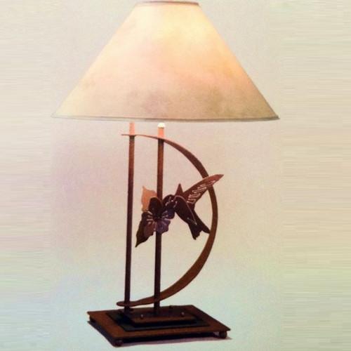 Hummingbird Transitional Table Lamp