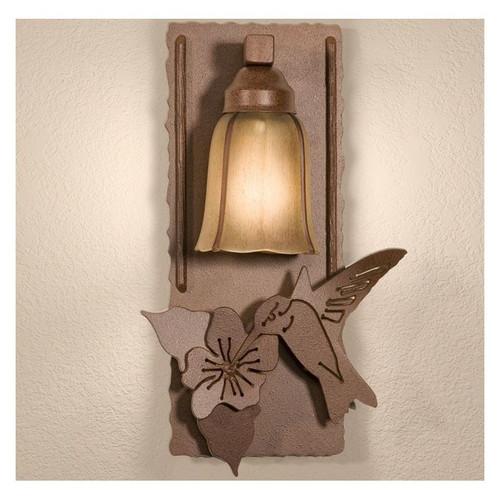 Hummingbird Wall Lamp