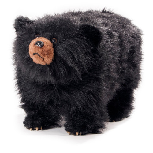 "Black Bear Footstool ""Shadow"""