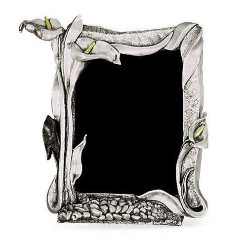 Calla Lily Silver Plated Photo Frame | U203