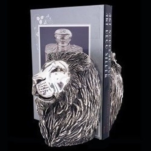 Lion Silver Plated Book Holder   U25