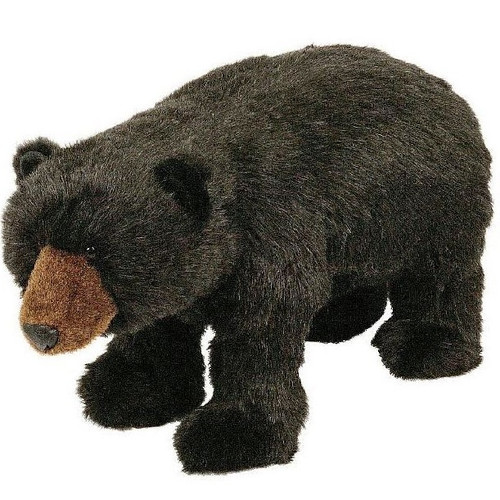 Black Bear Footstool