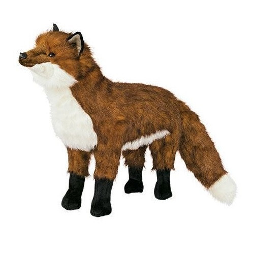 Red Fox Footstool