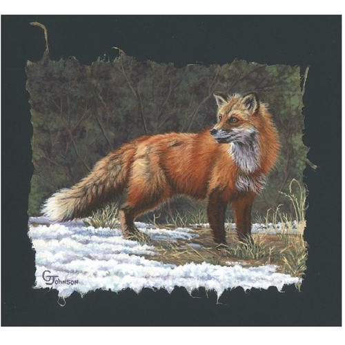 "Fox Print ""The Red Coat"""