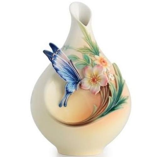 Fluttering Beauty Butterfly Small Vase | FZ02625
