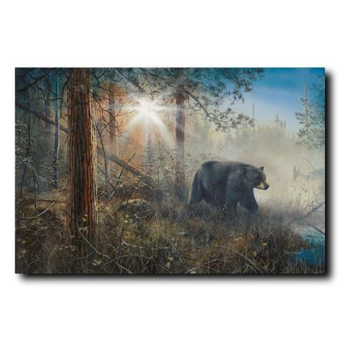 "Bear Print ""Shadow in the Mist"""