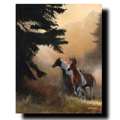 "Horse Print ""Paint Runner"" | Kevin Daniel | KD003"