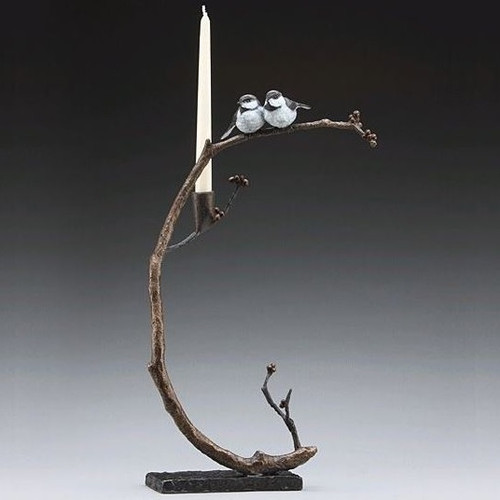 Good Company Bronze Bird Candelabra