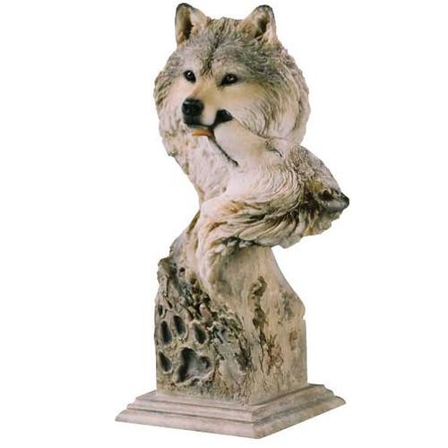 """Wolf Sculpture """"Kinship"""""""