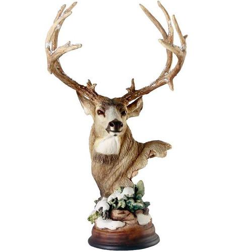 """Deer Sculpture """"First Snow"""""""
