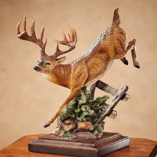 """Deer Sculpture """"Bound For Cover"""""""