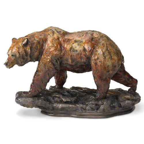 "Bear Sculpture ""One Step"""