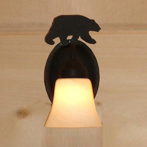 Bear Silhouette Sconce