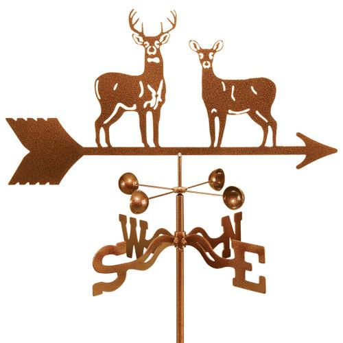 deer duo weathervane - Weather Vanes