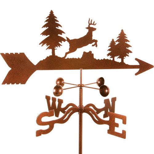 Deer Jumping Weathervane