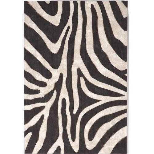 Safari Zebra Indoor Outdoor Area Rug