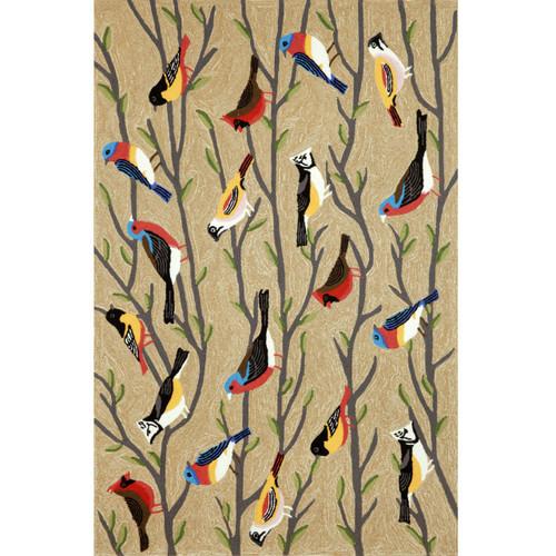 Frontporch Birds Indoor Outdoor Area Rug