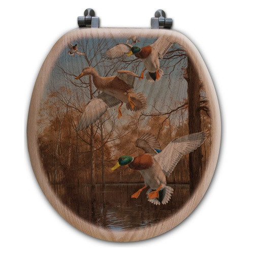 "Duck Toilet Seat ""Greenhead Haven"""