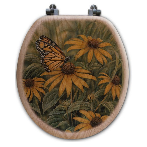 Monarch Butterfly Toilet Seat