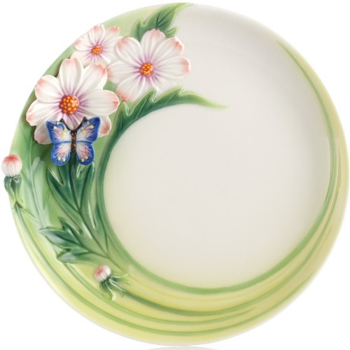 Butterfly Cosmos of Color Cake Plate | FZ03131
