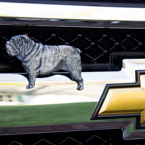 Bulldog Grille Ornament