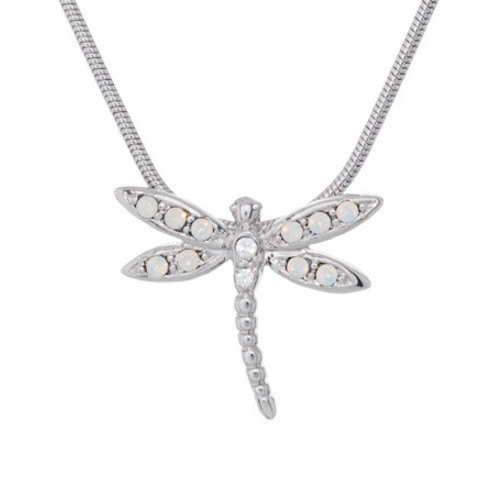 Dragonfly Pendant Necklace Take Flight   Nature Jewelry