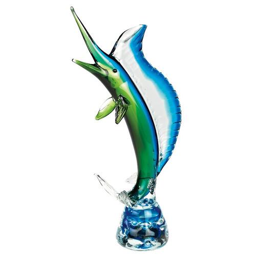 Sailfish Art Glass Sculpture