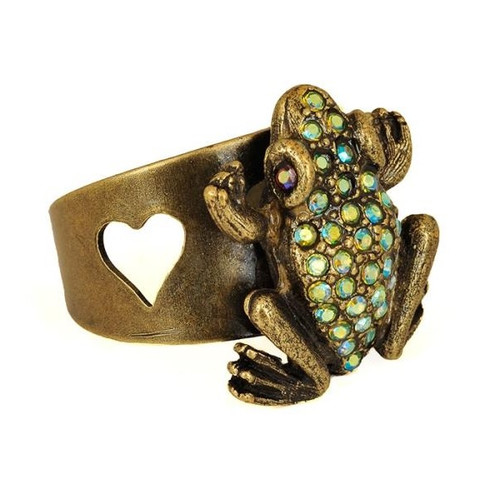 Frog Leap Of Faith Ring | Nature Jewelry