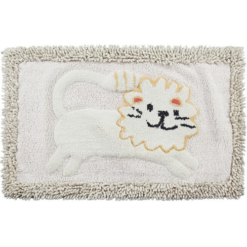Lion Bath Rug Animal Crackers