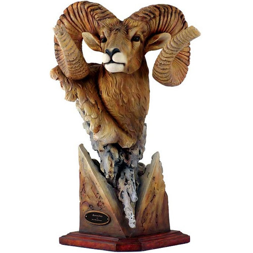 "Bighorn Sheep Sculpture ""Fortitude"""