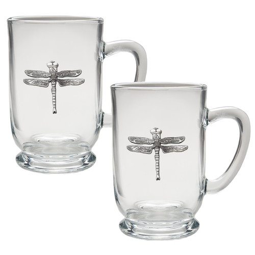 Dragonfly Coffee Mug Set of 2