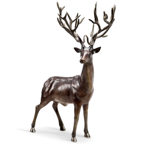 "Deer Sculpture ""Woodlands King"" 