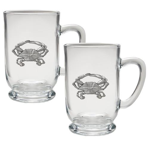 Crab Coffee Mug Set of 2