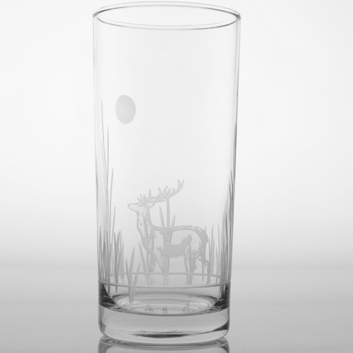 Deer Iced Tea Glass Set of 4