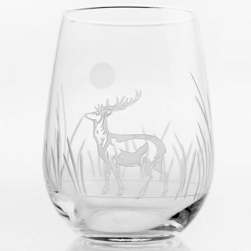 Deer Wine Tumbler Set of 4
