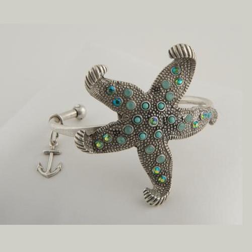 Starfish Cuff Bracelet | Nature Jewelry