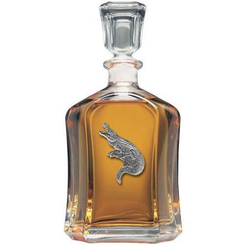 Alligator Capitol Decanter