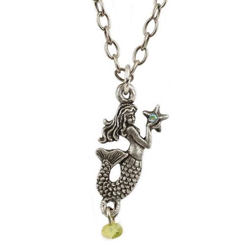Mermaid Starfish Necklace   Nature Jewelry