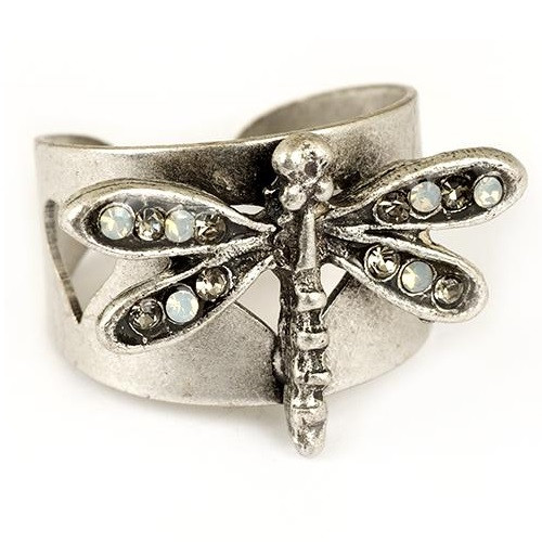 Dragonfly Ring   Nature Jewelry