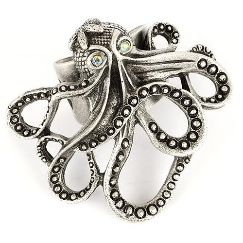 Octopus Ring | Nature Jewelry
