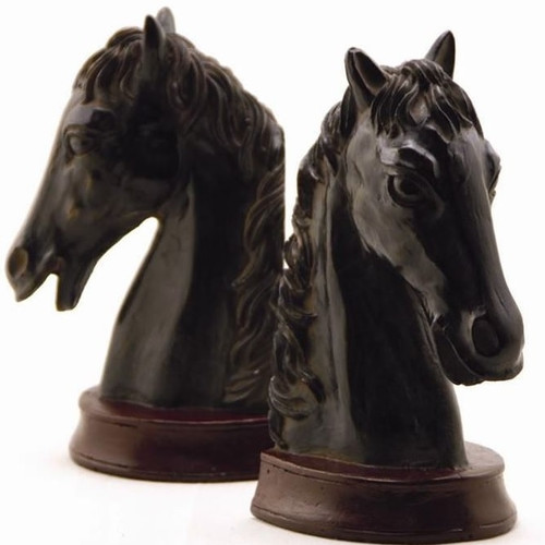 Horse Head Bookends | 50209 | SPI Home