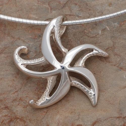 "Starfish Pendant Necklace ""Starry"" | Roland St. John Jewelry"