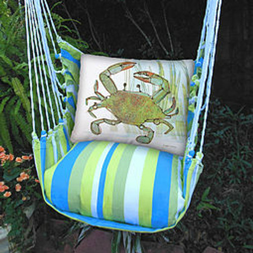 Blue Crab Hammock Chair Swing