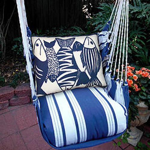 Fish Nautical Hammock Chair Swing